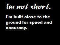 This is for us short people.