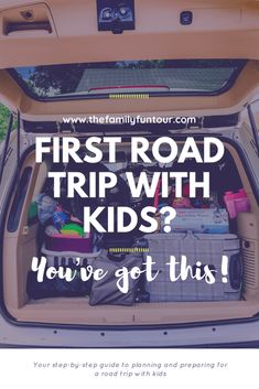 Step-by-Step Guide to Preparing for a Family Road Trip This Summer - #familytravel #familyroadtrip #roadtripwith kids #roadtrip #summervaction #summervacay Road Trip Packing, Road Trip Essentials, Road Trip Hacks, Packing List For Travel, Budget Travel, Travel Tips, Baby Travel, Toddler Travel, Travel With Kids