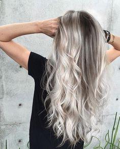 ash ombre hair for dark hair