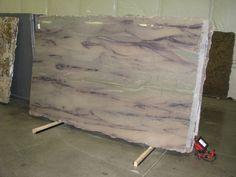 granite Granite Countertops Colors, Blue Granite, Granite Colors, Granite Tile, Granite Kitchen, Stone Slab, Stone Tiles, Azul Platino Granite, Titanium Granite