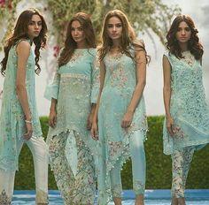 blue salwars