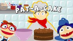 PAT A CAKE pat a cake baker's man nursery rhymes - Nursery rhymes with l...