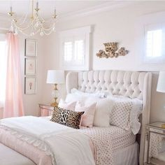 Luxury Champagne Bedroom Ideas 19