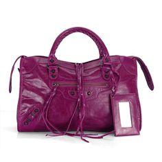4be361ab03a5b Handbag Magenta Balenciaga Town