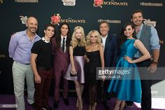 Stars of the upcoming Disney Channel's movie 'Descendants' and its director Kenny Ortega were the guests of honor at a screening party held at Disney Studios in Burbank, California on Friday, July 24. The contemporary, live-action adventure tells the story of the teenage sons and daughters of DisneyÕs most infamous villains. 'Descendants' premieres Friday, July 31 (8:00 p.m. ET/PT) on Disney Channel.