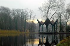 The World's Best Photos of muziektent Leiden, World Best Photos, Cool Photos, Landscape, Architecture, Building, Water, Stage, Google Search