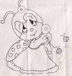Ladybug risks to paint - Pesquisa Google