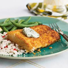 The test kitchen loved this halibut dish with herbed garlic aioli so much that they gave it their highest rating. You'll love that it takes only 25 minutes to make.