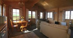 Springbank Farm Lodges - log cabins. St. Bees, Cumbria