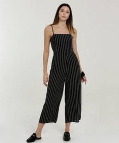 Striped Pants, Ideias Fashion, Jumpsuit, Street Style, Womens Fashion, Casual, Studio, Outfits, Clothes