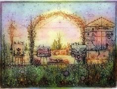 Fairy Land, All The Colors, Printmaking, Illustration Art, Illustrations, Vintage World Maps, Art Gallery, Arts And Crafts, Colours