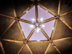 Inside the dome. Latvia, Jaunpiebalga. Dome Society.