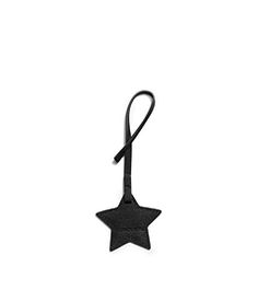 Large Saffiano Leather Star Charm Keychain  by Michael Kors