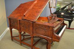 1900 Steinway Model A Sketch 257 Grand - Grand Pianos - Mid-America Piano