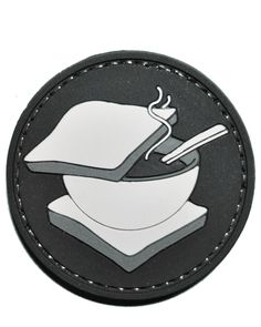 The Soup Sandwich Tactical Morale Gear Patch http://www.shadez-of-gray.com/clothing-apparel/morale-patches/soup-sandwich-pvc-morale-patch-by-tactical-morale-gear/
