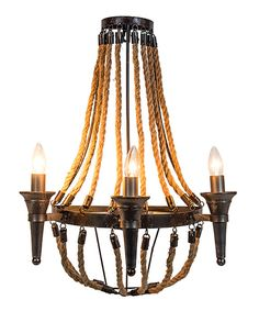 Love this Rope Lamp by Designs Combined Inc. on #zulily! #zulilyfinds