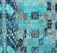 aquasilk at abc carpet...love these colors and would love to hang framed on a big white wall