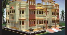 Indian Architecture, House Architecture, Modern Contemporary Homes, City Road, Ground Floor Plan, Futuristic Design, Temples, Farms, Auction