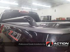 2016 Chev Colorado with Matte Black Side rails by Putco and a Lo Pro QT tonneau cover by TruXedo Tonneau Covers Installed by our store in London, ON! #ProfessionalGradeInstallation
