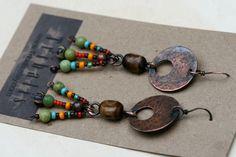 Samba earrings. $29.00, via Etsy.