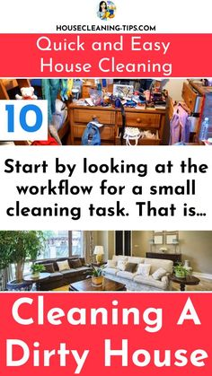 When It Comes to Cleaning a Dirty House - Do You Actually Know What You're Doing? #dirtyhouse