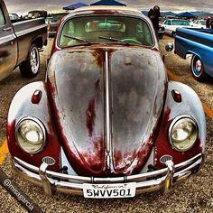 """#mg_vehicle_series #volkswagon #vw #vwbug #type1 #vwporn #gabvwkey #jj #ig #car (Taken with Instagram at Pomona Antique Auto Car Show And Swap Meet) """
