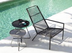 Edge highback chair is a highly comfortable lounge chair that fits perfectly both indoor and as well as outdoor. Its minimalistic design allows it to fit in many places without taking over the sorounding architecture, yet stands out as a refined piece of design with a special expression