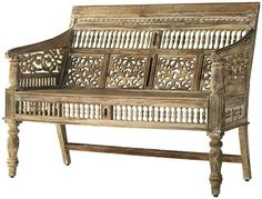 Home Decorators Collection | Maharaja Settee - I so want this in my apartment but until I can find a way to fit it in, on this board it resides...