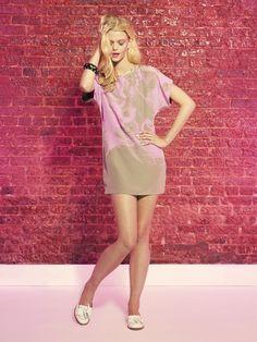 #HunterDixon Neon Oasis Silk Henning Dress Summer 2012