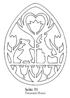 Easter scroll saw Animal Coloring Pages, Colouring Pages, Coloring Books, Stencil Art, Stencils, Crochet Lamp, Easter Drawings, Easter Colouring, Wood Burning Patterns