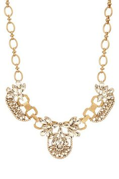 Luxe Deco Crystal Necklace by t+j Designs on @HauteLook