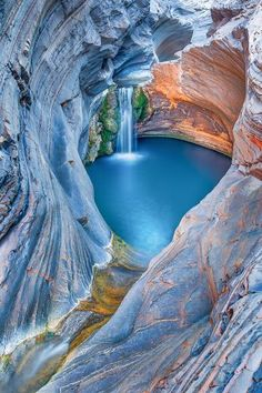 The Spa Pool, Karijini National Park, Western Australia #parks