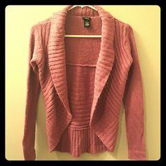 Pink cardigan Knit pink cardigan Rue 21 Sweaters Cardigans