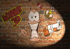 #Worms Graffiti. There are some great examples from @wormsteam17 Message us @taymaicom if you would Tell All Your Mates About It #taymai