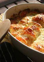 Cauliflower gratin - vegetarian comfort food for winter!