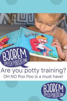 "Are YOU or someone you know toilet training? 🚽 These books make the best ""potty partners""! Kids LOVE the silly topic of pee and poo 💩! OH NO Pre Pee and OH NO Poo Poo make for a great gift for the young child YOU know that is working on the skill of toilet training! #bjoremspeech #pottytraining #pottytrainingbooks #childrensbooks Potty Training Books, Toilet Training, Best Potty, Phonological Awareness, Speech Therapy Activities, Early Literacy, Child Love, Speech And Language, Book Recommendations"