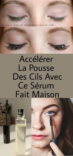 Accelerate eyelash growth with this homemade serum Accélérer la pousse des cils avec ce sérum fait maison Thick and long eyelashes are one of the signs of feminine beauty as they give a more attractive look and a deep look to the eye. Beauty Care, Beauty Hacks, Natural Sunscreen, Eyelash Growth, Look Plus, Sagging Skin, Longer Eyelashes, Younger Looking Skin, Best Anti Aging