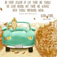 There are always new thing unfolding ahead for you!