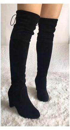 Fashion Heels, Fashion Boots, Sneakers Fashion, Latex Fashion, Fashion Men, Fall Fashion, Style Fashion, Fashion Outfits, Thigh High Boots Heels
