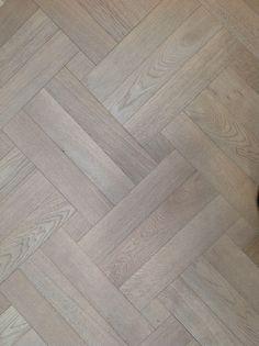 Element 7 Wood Floor Pattern, Herringbone Wood Floor, Floor Patterns, Foyer Flooring, Farmhouse Flooring, Living Room Flooring, Wood Parquet, Wooden Flooring, Grey Hardwood