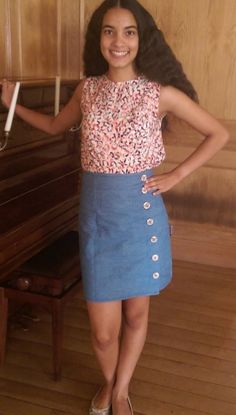 Mila's Arielle skirt - sewing pattern by Tilly and the Buttons