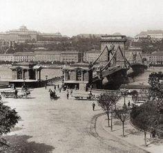 Ilyen is volt Budapest - 1898 táján, Ferenc József (Széchenyi István) tér Old Pictures, Old Photos, Buda Castle, Four Seasons Hotel, The Old Days, Budapest Hungary, Historical Photos, Time Travel, Budapest