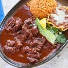 Spice up your Labor Day weekend with Chile Colorado at El Mariachi – chunks of top sirloin; cooked in a savory red sauce with onions, tomatoes, and mild peppers. Served with rice and beans. Flavor overload!