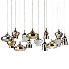 Nostalgia Pendant Cluster 14 by Studio Italia Design — ECC Lighting & Furniture Italia Design, Pendant Chandelier, Light Decorations, Lighting Design, Living Spaces, Nostalgia, Indoor, Ceiling Lights, Studio