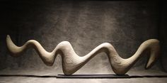 """crossconnectmag: """" Sublime Wood Sculpture by Thierry MartenonFrench sculptor Thierry Martenon creates his amazing minimalist sculptures made from mostly from wood in the Chartreuse Mountains, located..."""