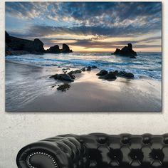 Whether you're looking to complete a room with some beach wall art or you want to go for a full-on beach theme in your home, you'll be glad to know th...   Porthcothan Bay Print #WallDecor #CoastalWallDecor #CoastallWalls #BeachDecor Beach Wall Murals, Beach Wall Art, Canvas Art Prints, Canvas Wall Art, Beach Themed Art, Coastal Wall Decor, Coral Art, Birds In The Sky, Wooden Wall Art