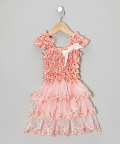 Take a look at this Pink Cupcake Tier Ruffle Dress - Infant & Toddler by Tutus by Tutu AND Lulu on #zulily today!