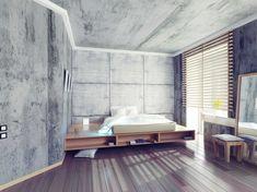 Revêtement mural en bois, pierre et béton – 50 idées à piquer
