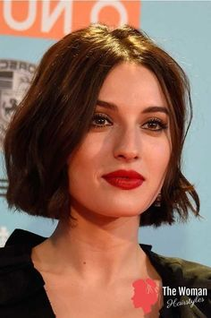 20 Best Brunette Bob Haircuts 2019 - 2019 - Hairstyle Fix - - Brunette Short Bob Haircuts 2018 Haircuts For Medium Length Hair, Short Hair Cuts, Medium Hair Styles, Short Hair Styles, Sleek Hairstyles, Short Bob Hairstyles, Bob Haircuts, Woman Hairstyles, French Style Haircut