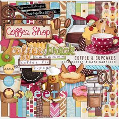 Happy National Coffee Day! « The Lilypad Digital Scrapbooking Blog
